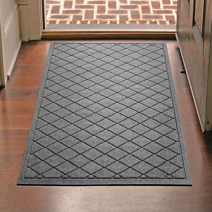 Weather Guard Argyle 30 Inch X 45 Inch Door Mat Bed