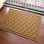 Weather Guard™ Argyle 23-Inch x 35-Inch Door Mat in Gold