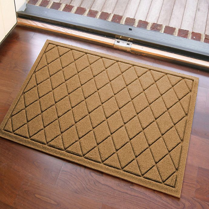 Alternate image 1 for Weather Guard™ Argyle 23-Inch x 35-Inch Door Mat