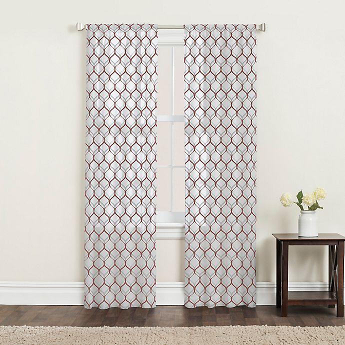 Alternate image 1 for SALT™ Landry 2-Pack Rod Pocket Window Curtain Panels