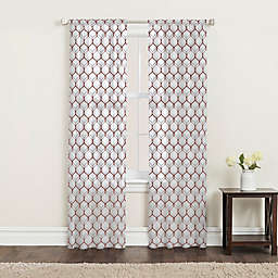 SALT™ Landry 2-Pack Rod Pocket Window Curtain Panels