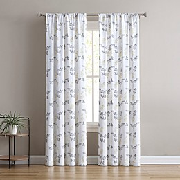 SALT™ Ainsley 2-Pack Rod Pocket Light Filtering Window Curtain Panels