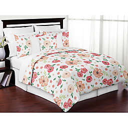 Sweet Jojo Designs® Watercolor Floral Comforter Set