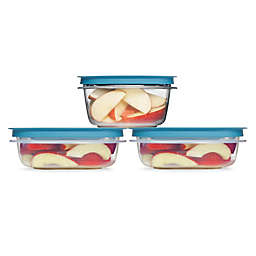 Rubbermaid® Flex & Seal™ 6-Piece Food Containers with  Easy Find Lids