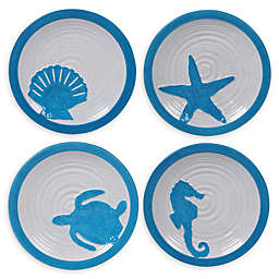 Certified International Natural Coast Dessert Plates (Set of 4)