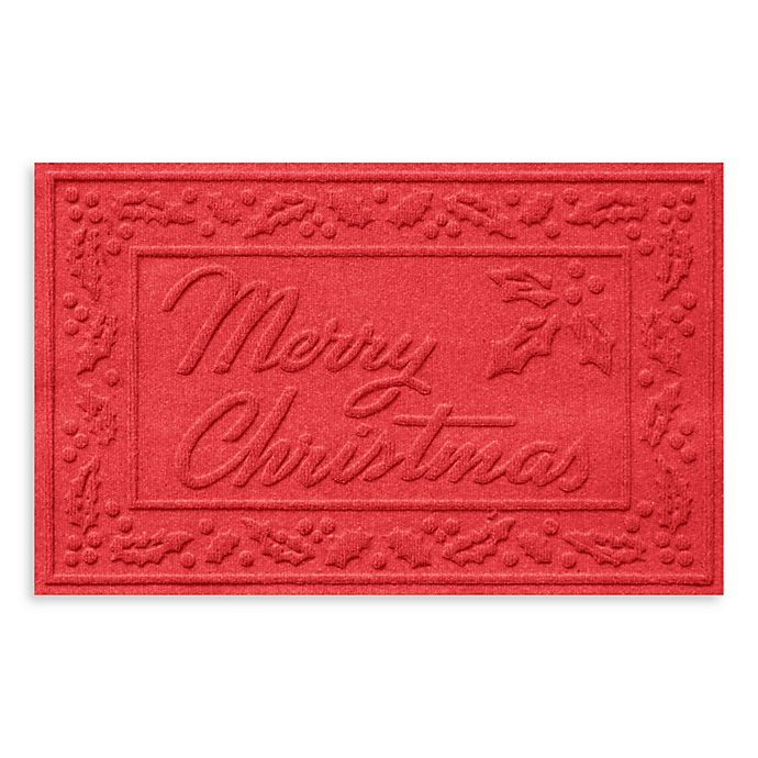 Alternate image 1 for Weather Guard™ 23-Inch x 35-Inch Merry Christmas Door Mats