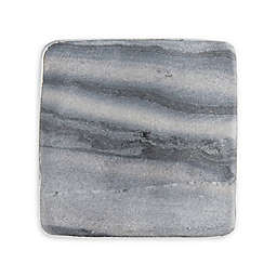 Thirstystone® Marble Silver Edge Coasters (Set of 4)