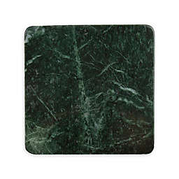 Thirstystone® Marble Coasters in Dark Green (Set of 4)