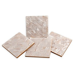 Thirstystone® Mother of Pearl Coasters (Set of 4)
