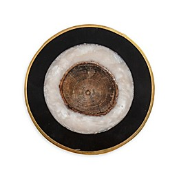 Thirstystone® Gold Rimmed Round Coasters (Set of 4)