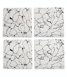 Portavasos cuadrados Thirstystone® de resina, Set de 4