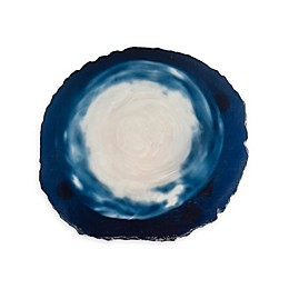 Thirstystone® Agate Look Coasters in Blue/White (Set of 4)
