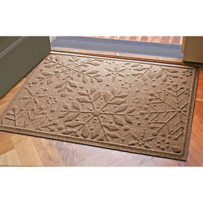 Weather Guard™ 23-Inch x 35-Inch Snowflake Door Mats