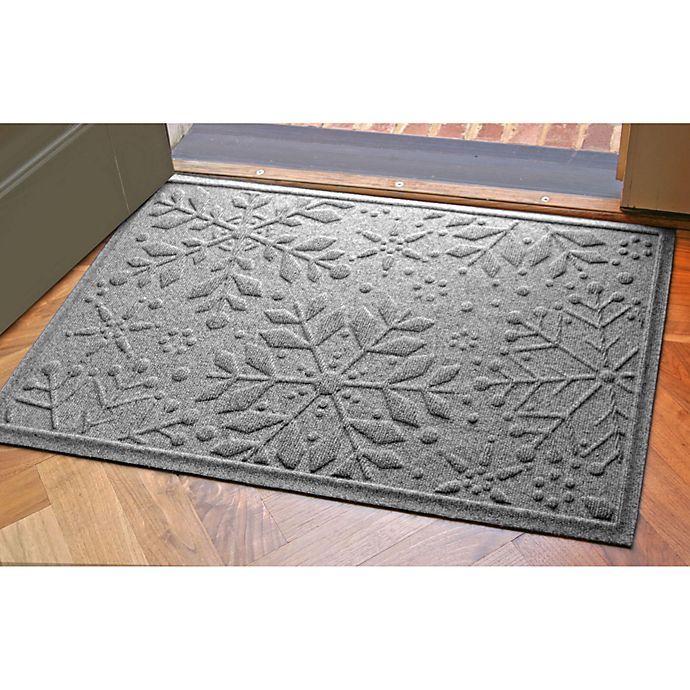 Alternate image 1 for Weather Guard™ 23-Inch x 35-Inch Snowflake Door Mats