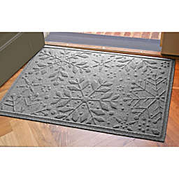 Weather Guard™ 23-Inch x 35-Inch Snowflake Door Mats