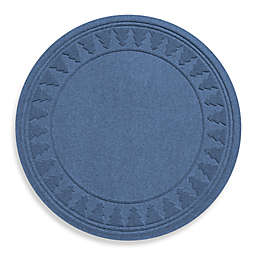 Weather Guard™ Round Tree Skirt in Navy