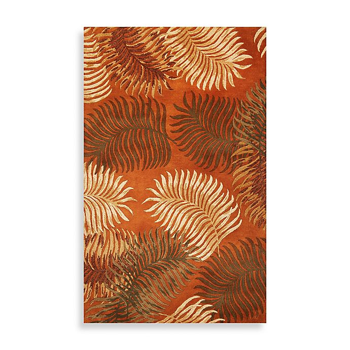 Alternate image 1 for KAS Havana Natural Fern View Rug