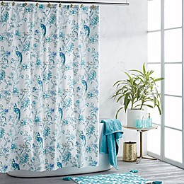 Peacock Shower Curtain Collection