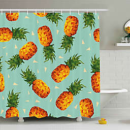 Ambesonne Pineapple Shower Curtain