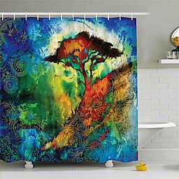 Bohemian Shower Curtain