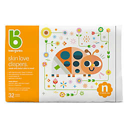 Babyganics® 32-Count Newborn Jumbo Ultra Absorbent Diapers