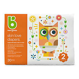 Babyganics® 30-Count Size 2 Jumbo Ultra Absorbent Diapers