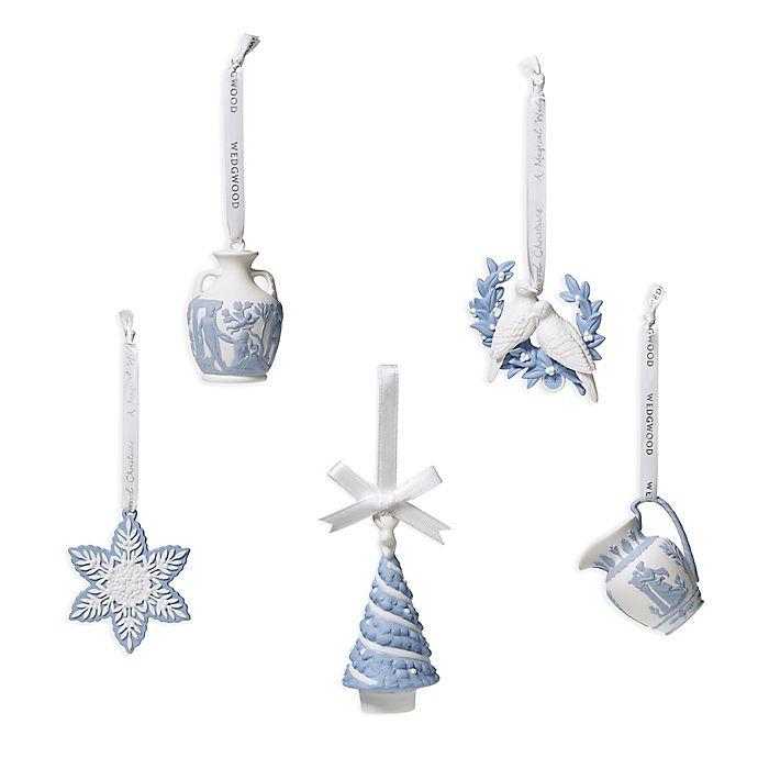 Wedgwood Christmas Ornaments 2019.Wedgwood 2019 Christmas Ornament Collection Bed Bath Beyond