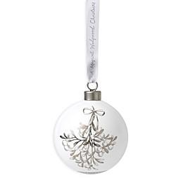 Wedgwood® 2019 Mistletoe Ball Christmas Ornament