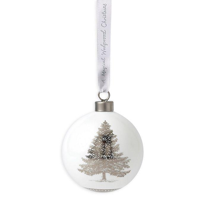 Wedgwood Christmas Ornaments 2019.Wedgwood 2019 Christmas Tree Ball Christmas Ornament Bed