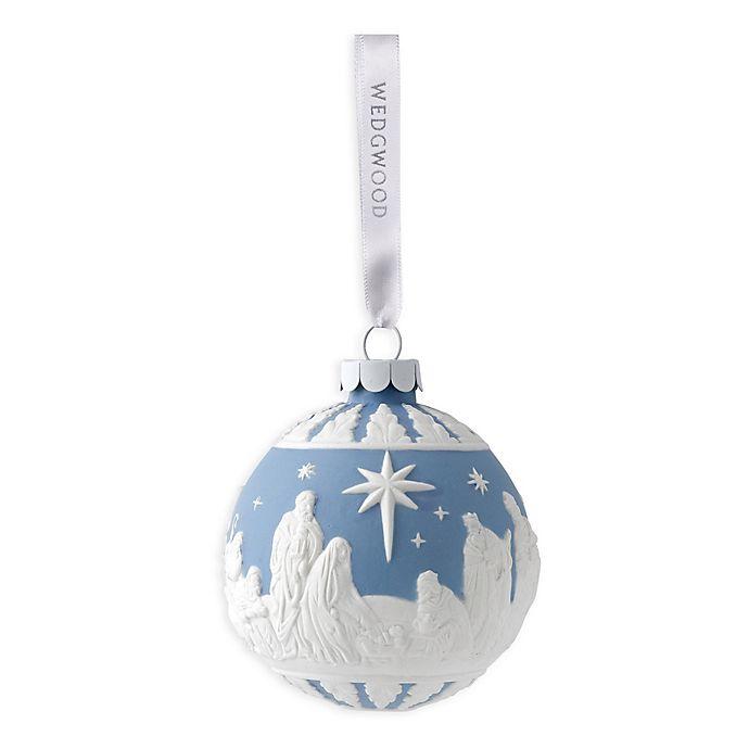 Wedgwood Christmas Ornaments.Wedgwood 2019 Nativity Christmas Ornament
