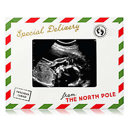 Pearhead® Special Delivery from the North Pole 3-Inch x 4-Inch Sonogram Picture Frame