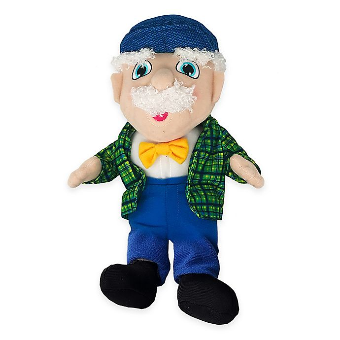 Alternate image 1 for 12-Inch Ask Papa Talking Plush in Blue