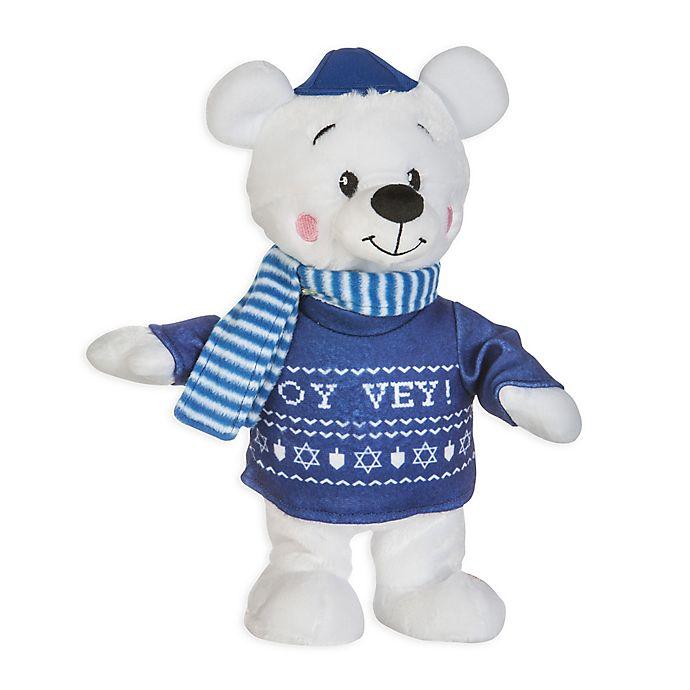Alternate image 1 for Gemmy® Happy Shuffle Oy Vey Hanukkah Polar Bear