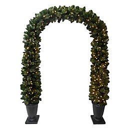 Winter Wonderland 7-Foot Pre-Lit Christmas Archway