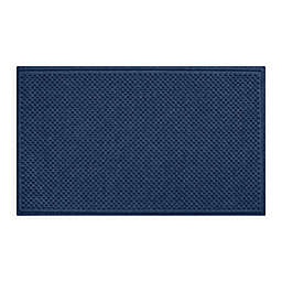 """Weather Guard™ Aqua Shield Gems 36"""" x 59"""" Door Mat in Navy"""