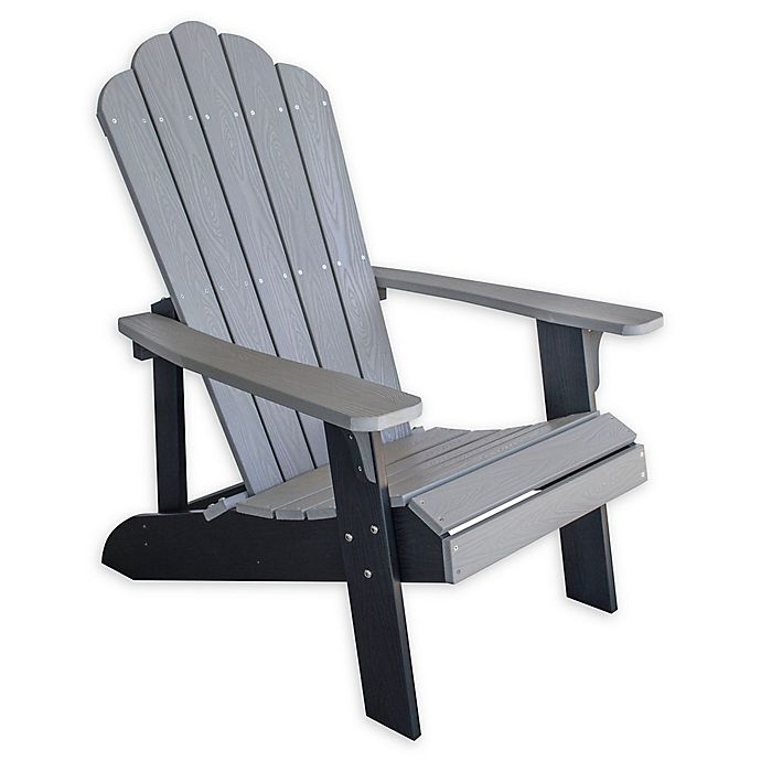 Enjoyable Amerihome 2 Tone Adirondack Chair Bed Bath Beyond Ibusinesslaw Wood Chair Design Ideas Ibusinesslaworg