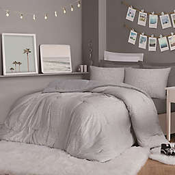 Christian Siriano NY® Jasper 3- Piece Full/Queen Duvet Set in Grey