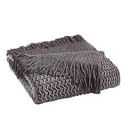 Sand Cloud Baja Ombre Throw Blanket in Grey