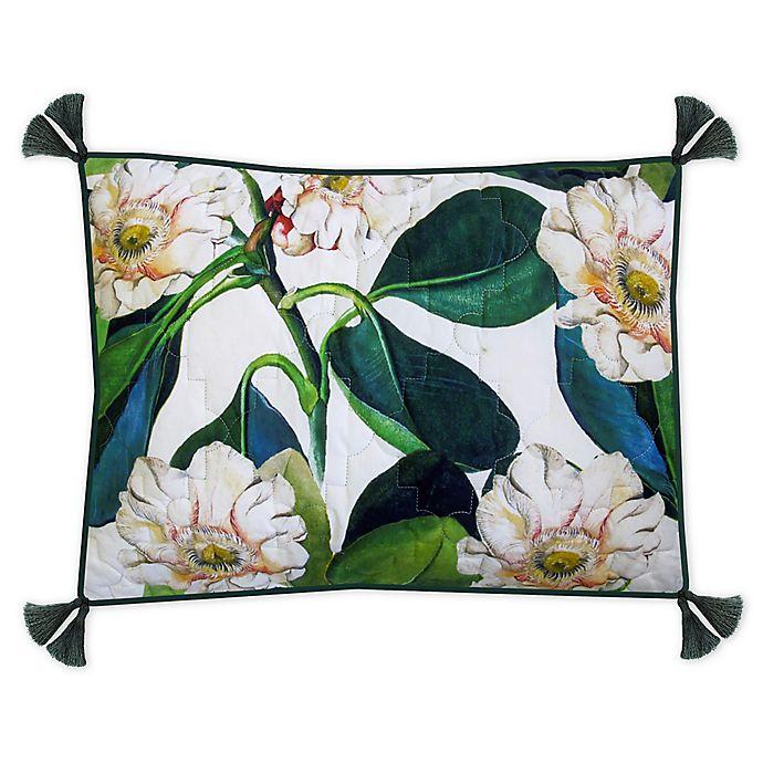 Alternate image 1 for New York Botanical Garden® Margaret Standard Pillow Sham in Green