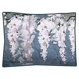 New York Botanical Garden® Wisteria Standard Pillow Sham in Blue