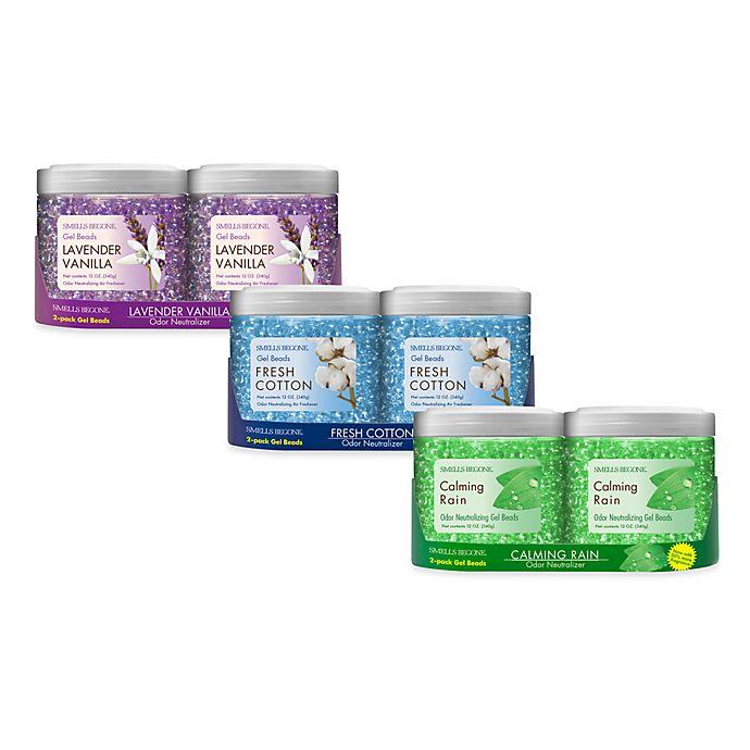 Alternate image 1 for Smells BeGone® Odor Neutralizing Gel Beads (2-Pack)