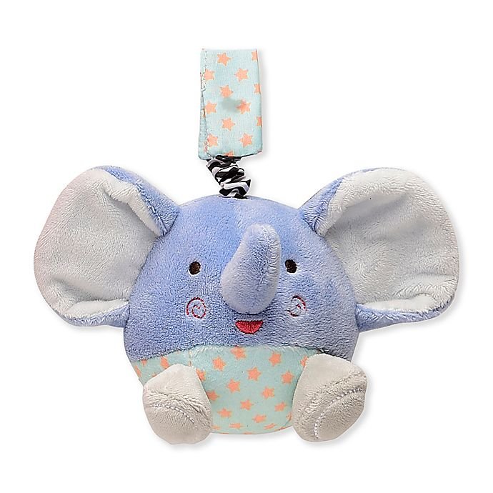 Alternate image 1 for Magic Years® Elephant Chime Toy in Blue