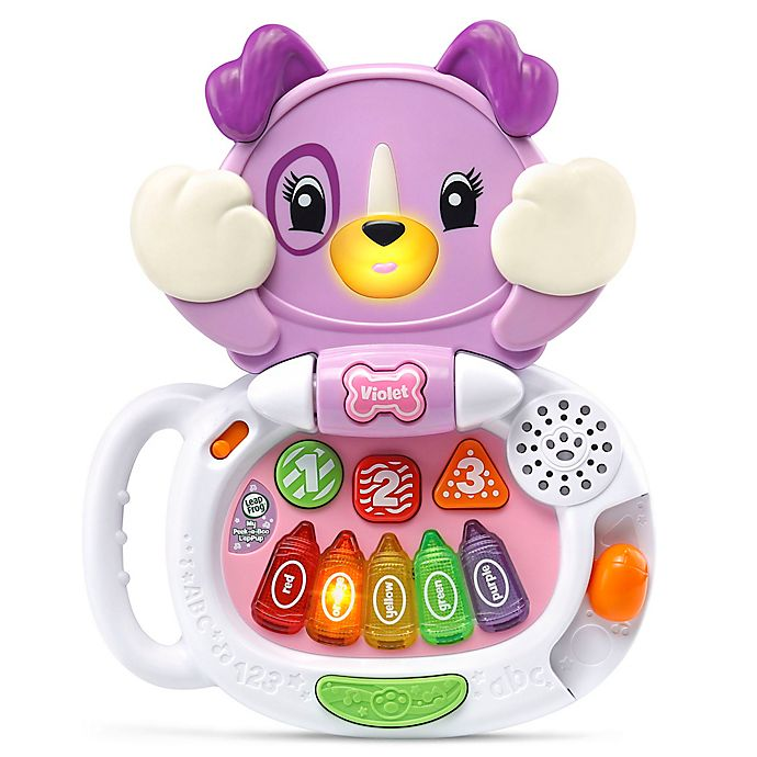 Alternate image 1 for Leap Frog® My Peak-a-Boo Talking LapPup Violet