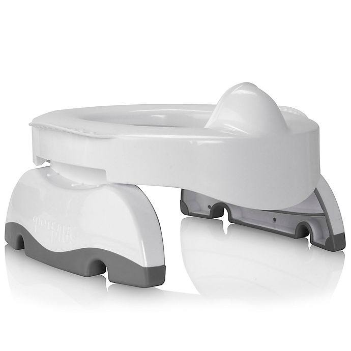 Alternate image 1 for Potette® Premium 2-in-1 Travel Potty and Trainer Seat in White