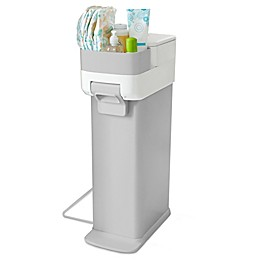 Skip*Hop® Nursery Diaper Pail in Grey/White