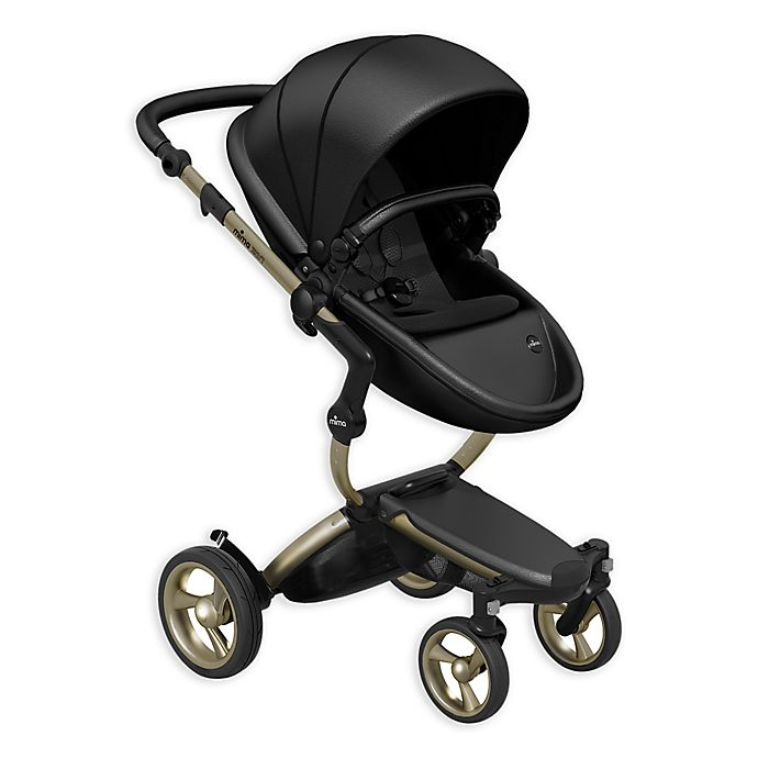 Alternate image 1 for Mima® Xari Champagne Chassis Stroller