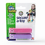 Baby Buddy® 2-Pack Secure-A-Toy in Pink/Lilac