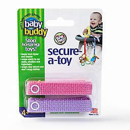 Baby Buddy® 2-Pack Secure-A-Toy
