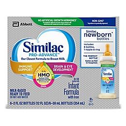 Similac Pro-Advance™ 6-Count 2 fl. oz. Non-GMO with 2'-FL HMO Iron Infant Formula