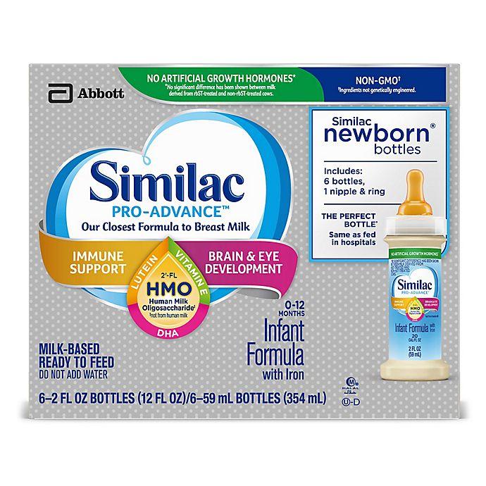 Alternate image 1 for Similac Pro-Advance™ 6-Count 2 fl. oz. Non-GMO with 2'-FL HMO Iron Infant Formula